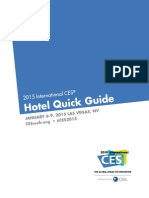 2015 CES Hotel Quick Guide