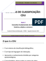Fundamentos CDU