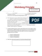 hardy-weinberg principle webquest