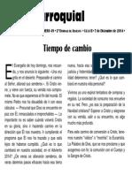 Hoja Parroquial 2014-12-07 No.49
