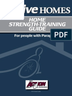 Home Strength Training Guide Paraplegia