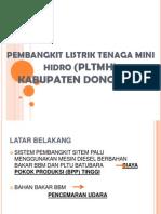 Pembangkit Listrik Tenaga Mini Hidro (Pltmh)