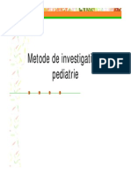 Curs Investigatii in Pediatrie