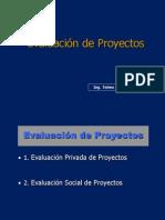 3.3 Evaluacion de Proyectos