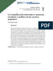 La Comunicación Alternativa - Memoria, Territorio y Política en Los Sectores Populares