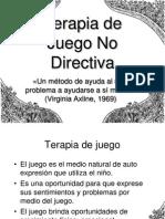Terapia de Juego No Directiva
