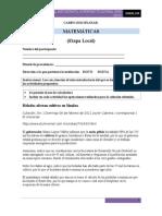 Examen de Matematicas Concurso Interintitucional 2012 (Etapa Local)
