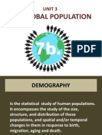 unit 3-global population