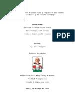 Estudio Comparativo de Resistencia y Composición Del Cemento Holcim Rocafuerte y El Cemento Selvalegre