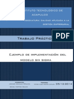 Sistema de Calidad Six Sigma