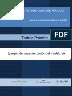Ejemplo Modelo Six Sigma