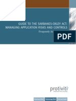 Guide to the Sarbanes-oxleyact Managing Application Risks and Controls_FAQ_Guide