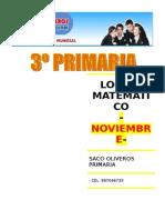LOGICO MATEMATICO (3ro de primaria)