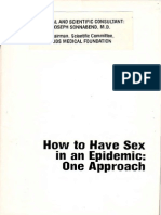 How to Have Sex in an Epidemic