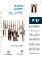 Alicia Del Campo - Teatralidades de La Memoria