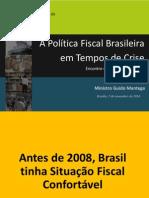 Apresentacao Do Ministro Guido Mantega No Encontro de Politica Fiscal -FGV 07.11.14