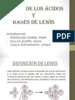 Fuerza de Los Ácidos y Bases de Lewis