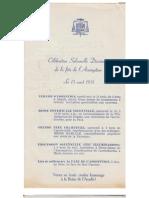 Pamphlet - Célébration Solennelle Diocésaine de la Fête de l'Assomption - 15 août 1951