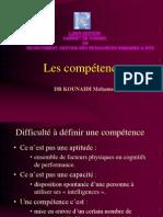 1 Les Compétences