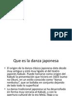 Danza Japonesa resumen