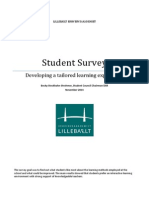 Student Survey Report