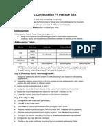 87296209 ENetwork Basic Configuration PT Practice SBA