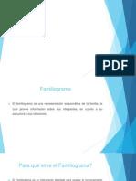 Exposicion de Pinto FAMILIOGRAMA