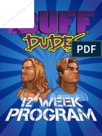 12 Week Plan buff dudes