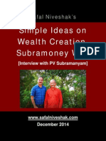 Interview With PV Subramanyam PDF