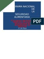 Panorama Nacional de La Seguridad Alimentaria-270511-2