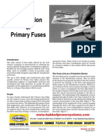 Application of Primary Fuses