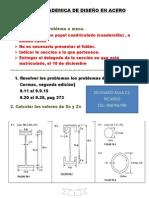 TAREA ACADEMICA DE DISEÑO EN ACERO 2014 II.docx