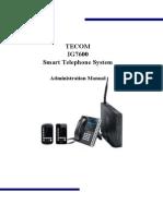 Standard IG7600 Manual en V0.1.17a1
