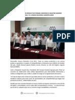 08-12-14 Por un campo más productivo firman convenio el Registro Agrario Nacional y el Consejo Nacional Agropecuario