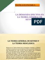 Demanda Efectiva Keynes