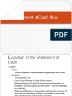 Statement of Cashflow