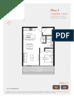 Aperture Vancouver Presale Condo Floor Plan I Mike Stewart