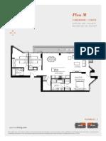 Aperture Vancouver Presale Condo Floor Plan M Mike Stewart