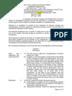 transplantation act 1994