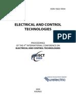 Proceedings ECT 2009