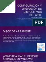 Configuración y Operación de Dispositivos