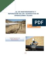 3 Manual de Mantenimiento y Reparación de UN POLIDUCTO PERU