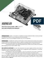 Manual SD250.2D
