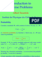 Inverse Problems in Short