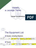 24(Lecture - Vessels, Drums & Tanks).ppt