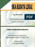 Budaya Lokal Panorama 2013