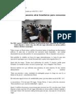 Concurso Público - Jornal Nacional
