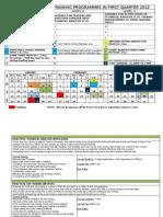 Training Calendar Jan 2012-Mar 2012