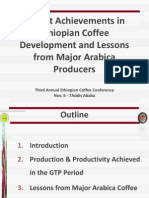 Recent Achievements in Ethiopian Coffee Development and Lessons From Major Arabica Producers