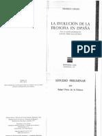 La Evolucion de La Filosofia en España - F. Urales